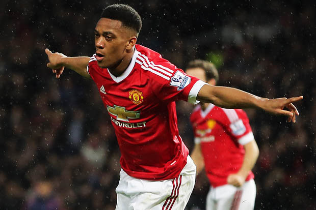 ANTHONY MARTIAL a shirty reaction