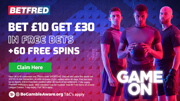 The Betfred Free Bet