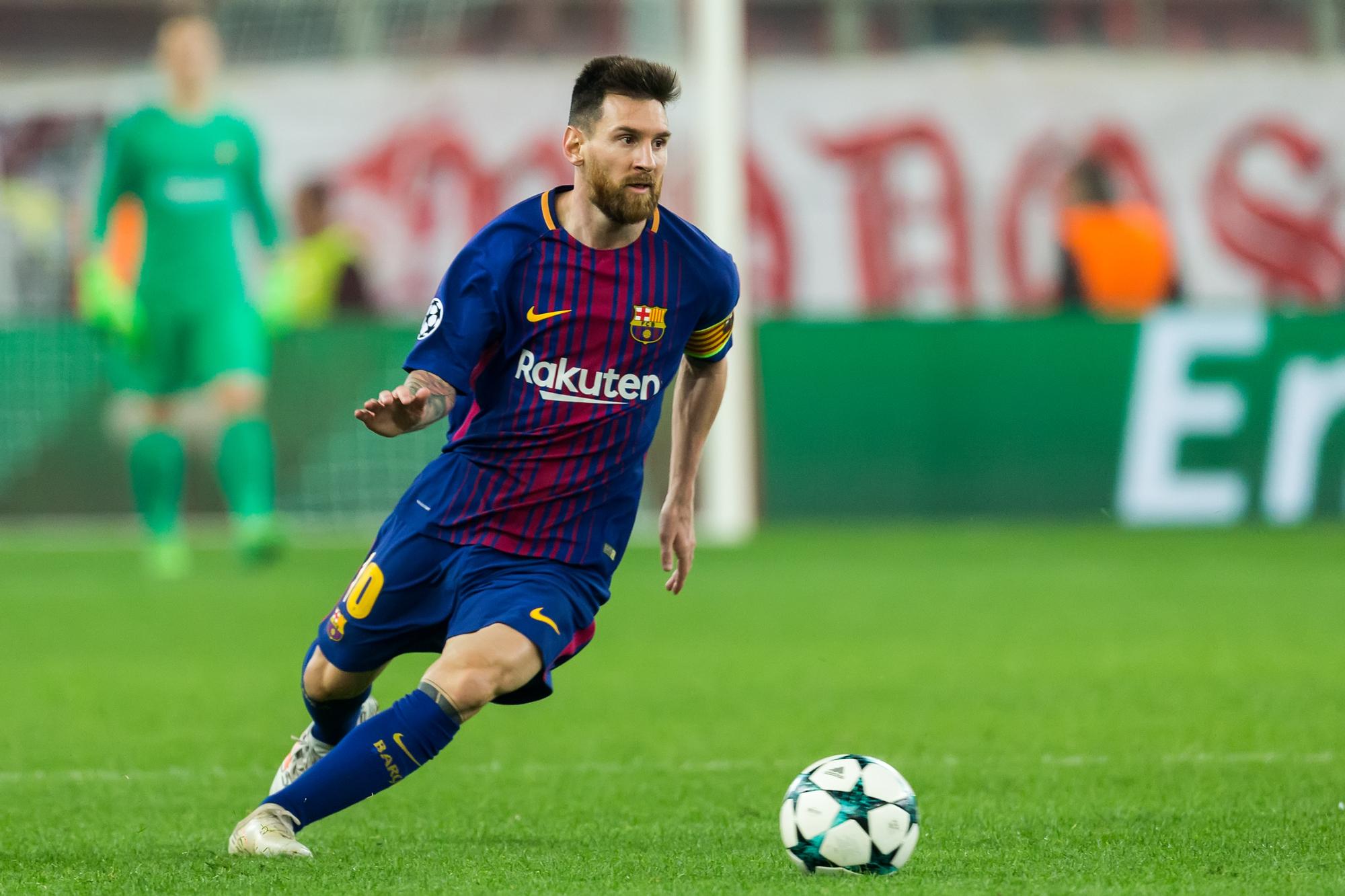 Lionel Messi Champions League Top Scorer