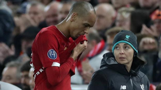 Liverpool: Klopp faces wait over fitness of Fabinho