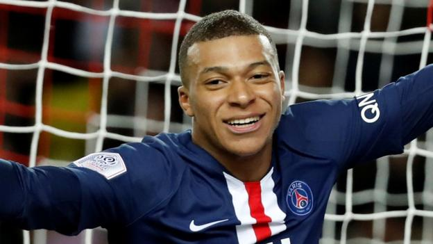 Kylian Mbappe: PSG striker says Liverpool a 'machine' as they head to Premier League title