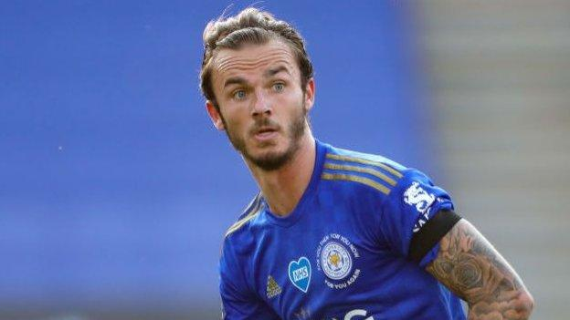 James Maddison: Leicester City midfielder agrees new deal with the Foxes