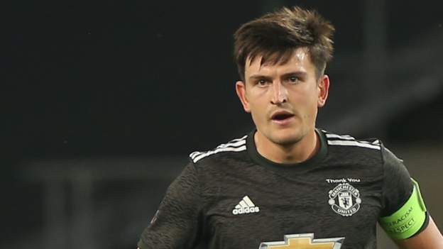 Harry Maguire sent off