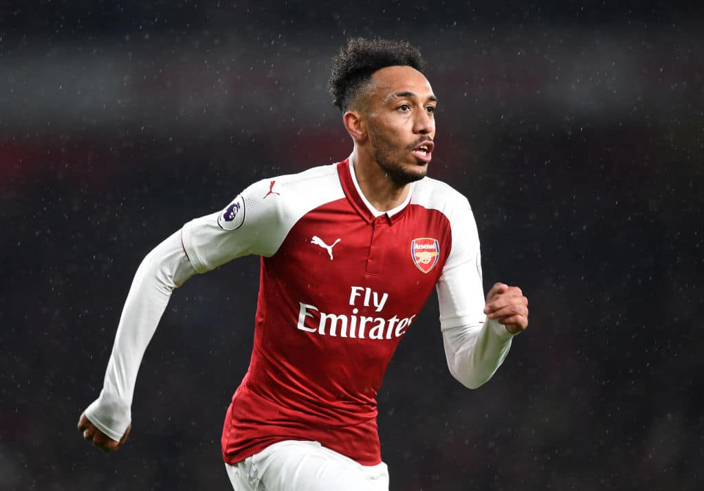 Pierre-Emerick Aubameyang helped Arsenal