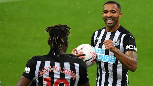 Newcastle United 3-1 Burnley: Callum Wilson double helps the hosts move up to sixth